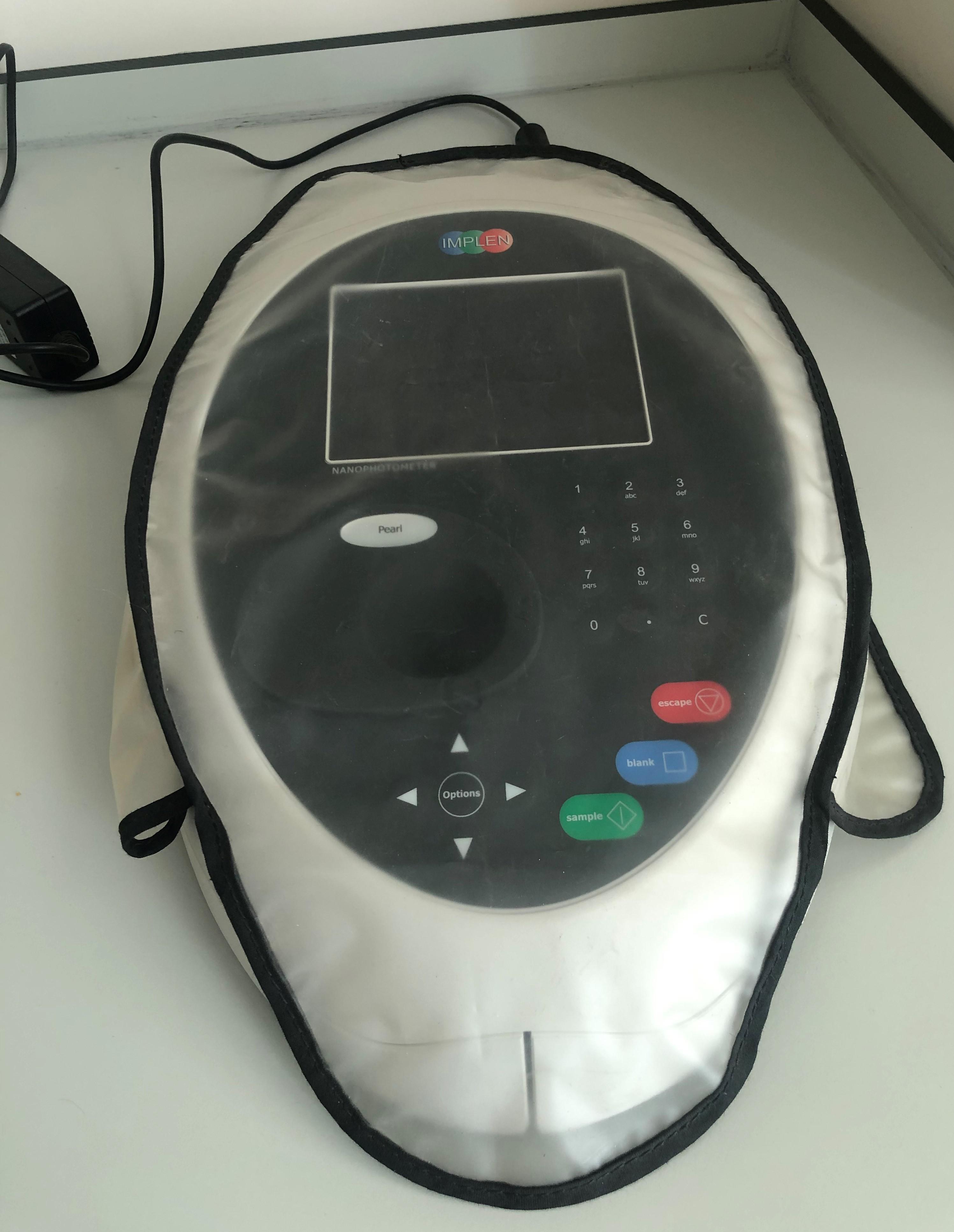 Nanodrop spektrometre